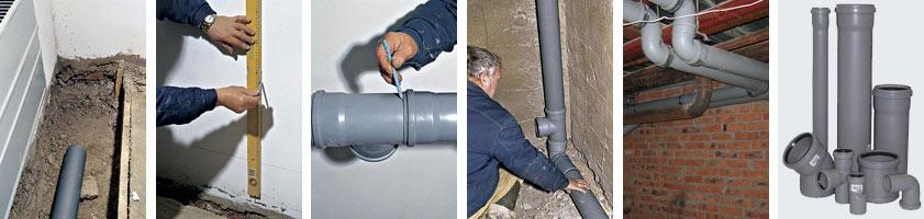 Проектирование и монтаж систем канализации в Санкт-Петербурге
